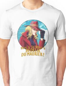 Where in the world is Bedelia Du Maurier? Unisex T-Shirt