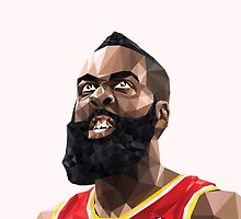 James Harden by Roland Bánrévi