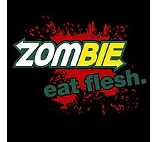 Zombie - Eat Flesh Photographic Print