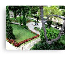 Aurelius Garden Canvas Print