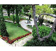 Aurelius Garden Photographic Print