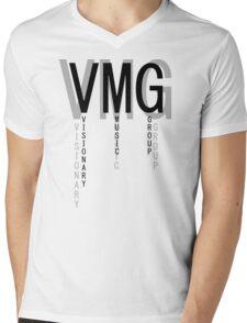 Visionary Music Group Mens V-Neck T-Shirt