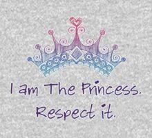 I am the princess. Respect it. Kids Tee