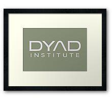 DYAD Institute Framed Print