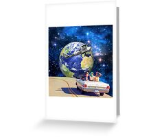 road home Greeting Card