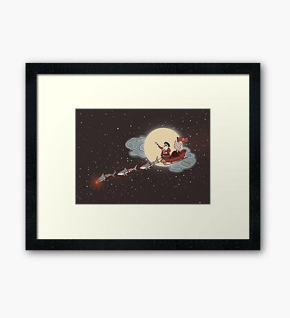 Yo Ho! Ho! Ho! Framed Print