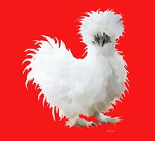 Silly Silkie Chicken by Bamalam Art and Photography