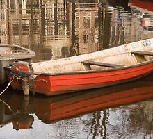 A little red boat by Katherine Maguire