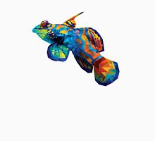 Geometric Abstract Mandarin Dragonette Goby Unisex T-Shirt