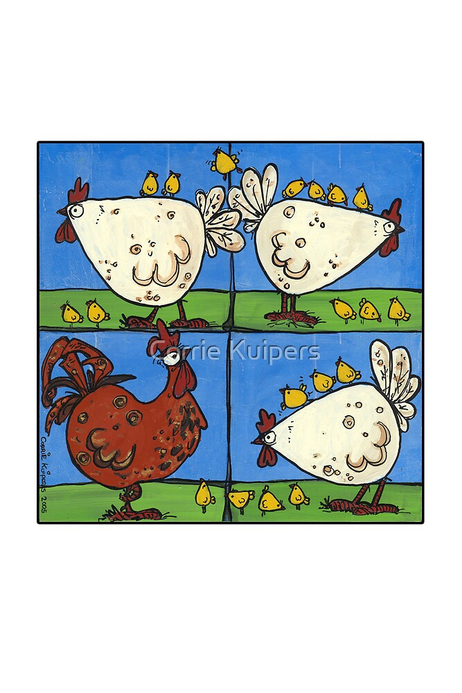 Chickens by Corrie Kuipers