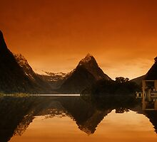 Mitre Peak, New Zealand by David James