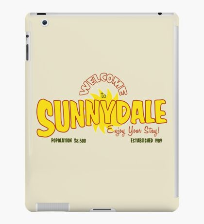 Welcome to Sunnydale iPad Case/Skin
