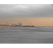 Central Pier, Blackpool Photographic Print