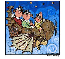 Family Holiday by Corrie Kuipers