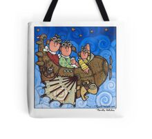 Family Holiday Tote Bag