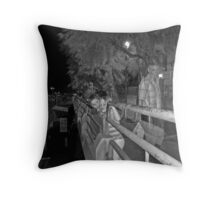 Children and the Angel Throw Pillow