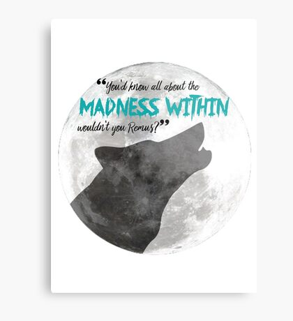 The Madness Within Metal Print