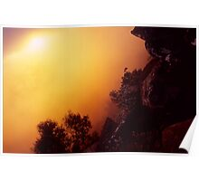 Sunrise in the Grampians Poster