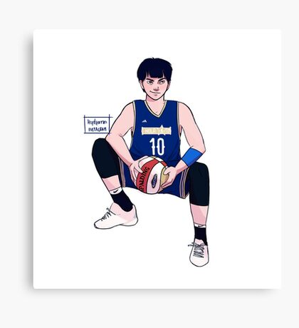 Boy game Canvas Print
