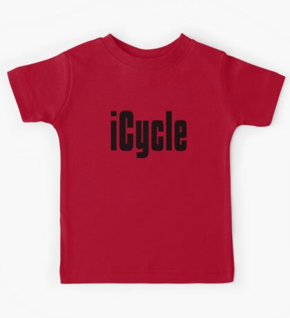 Funny Cycling T Shirt Kids Tee