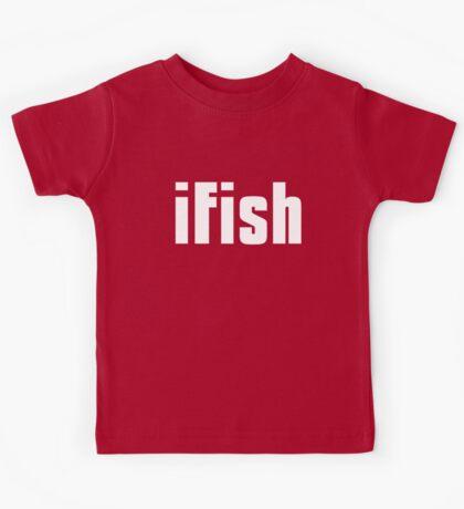 Funny Fishing T Shirt Kids Tee