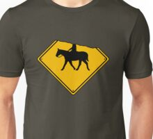 Watch for Horses and Headless Riders Unisex T-Shirt