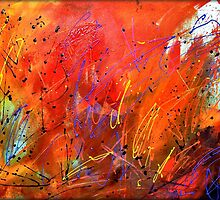 Celebration of Colorful by Peggy Garr