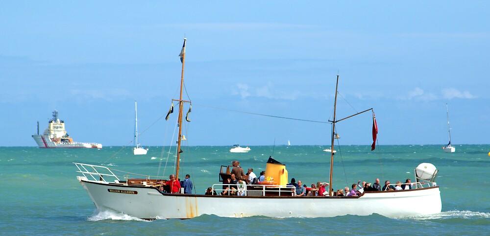 The Beachy Head boat by John Thurgood