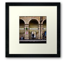 Arched people Framed Print