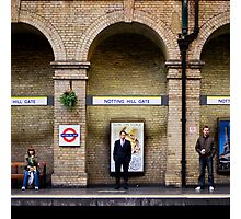 Arched people Photographic Print