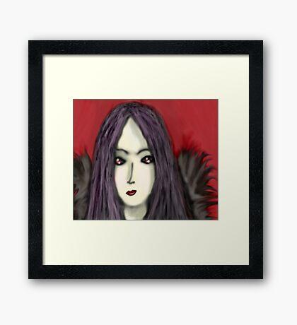 Angel Of Darkness Framed Print