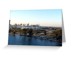 Miami Florida Greeting Card