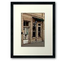 Antique Shop Framed Print