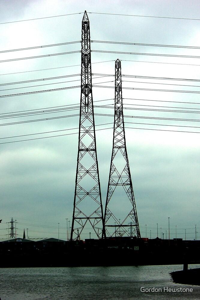 pylons by Gordon Hewstone