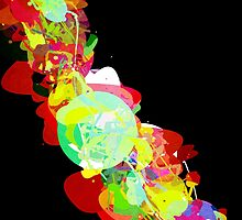 Mixed Media Colors 5 by Phil Perkins
