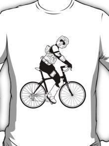 Biker Scout on a Bicycle - Biker Scout Bike - Star Wars Biker Scout T-Shirt