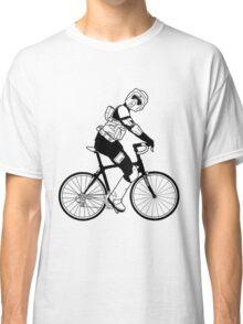 Biker Scout on a Bicycle - Biker Scout Bike - Star Wars Biker Scout Classic T-Shirt