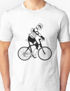 Biker Scout on a Bicycle - Biker Scout Bike - Star Wars Biker Scout Unisex T-Shirt