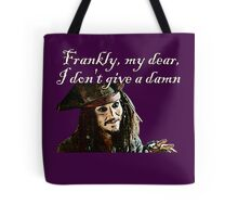 Jack Sparrow Just Doesn't Give a Damn Tote Bag