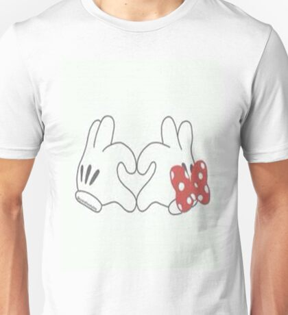 minnie and mickey mouse Unisex T-Shirt