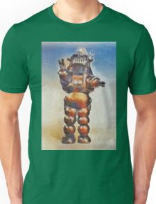 Robbie the Robot, Vintage SciFi Legend Unisex T-Shirt