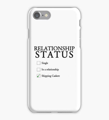 Relationship status - caskett iPhone Case/Skin