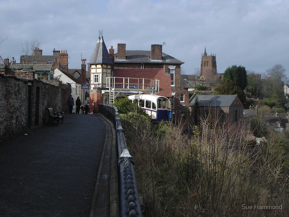 Bridgnorth, Cliff railway by Sue Hammond