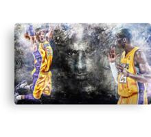 Kobe Bryant - BLACK MAMBA 24 Canvas Print