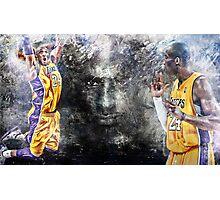 Kobe Bryant - BLACK MAMBA 24 Photographic Print