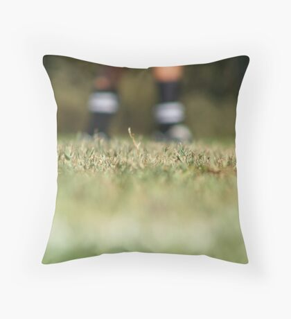 On the Pitch Throw Pillow