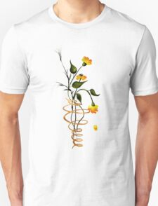 Flowers In A Spiral T-Shirt