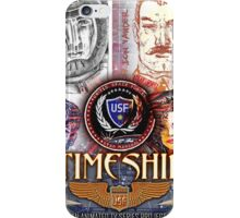 Timeship Anime Poster iPhone Case/Skin
