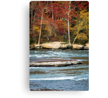 Autumn on the Cumberland River Canvas Print