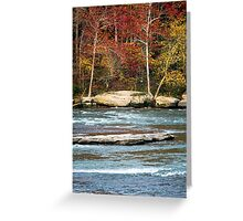 Autumn on the Cumberland River Greeting Card